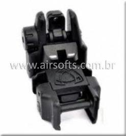 Mira Para Airsoft Rebatível APS Traseira GG039B - Airsofts Brasil