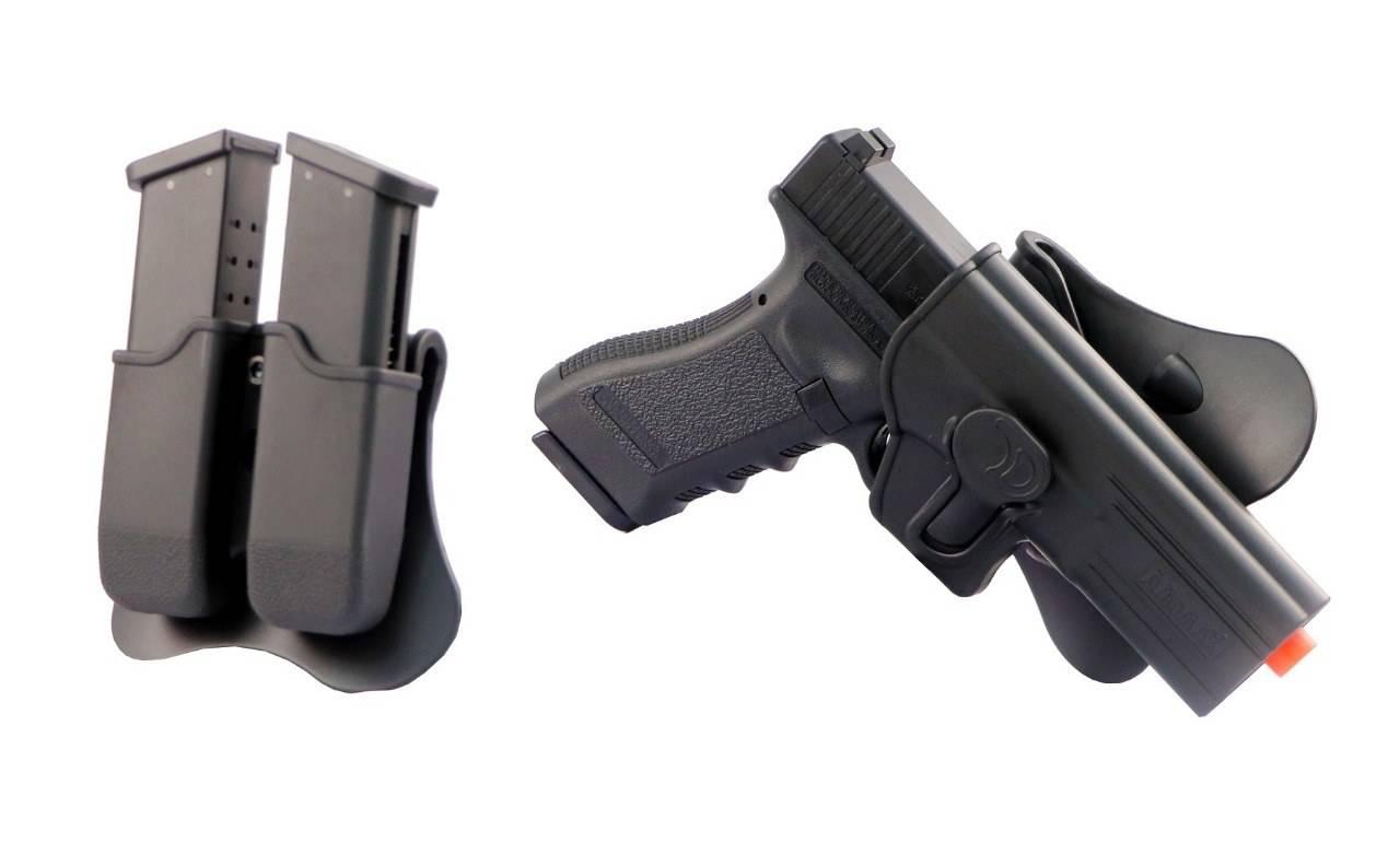 Pistola Airsoft Army Armament Glock G17 GBB