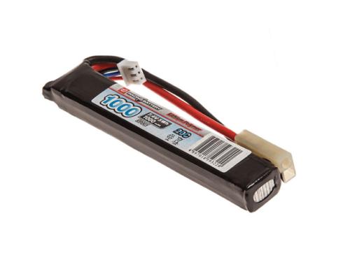 Bateria Lipo Airsoft 7.4V 1000MAH 20C