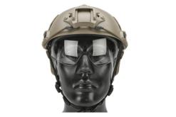 Capacete Airsoft Emerson Gear tan