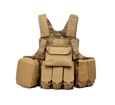 Colete Airsoft Emerson Gear Tan