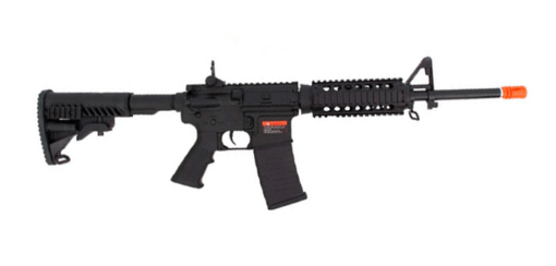 RIFLE AIRSOFT APS 302B 6MM - PRETO