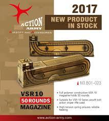 Magazine Action Army VSR10 50RDS