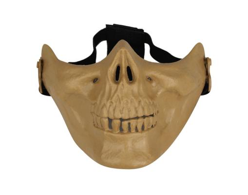 Mascara Airsoft Caveira - Tan