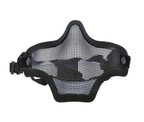 Mascara Airsoft TMC Malha Metálica Strike - preto - final 1