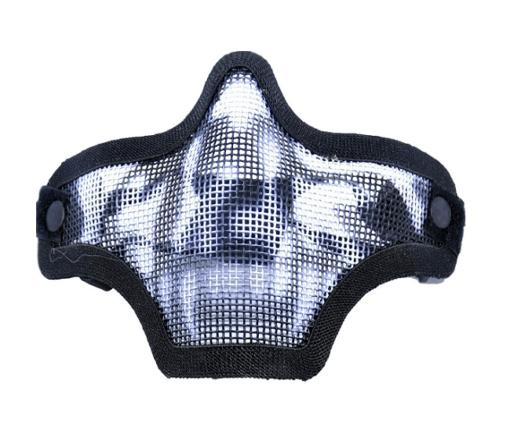 Mascara Airsoft TMC Metálica Custom Caveira - final 1