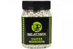 Munições Airsoft Bio Attack Sniper Series BBS 0.43g