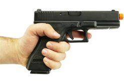 Pistola Airsoft Army Armament Glock G17 Preto