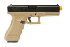 Pistola Airsoft Army Armament Glock G17 Tan