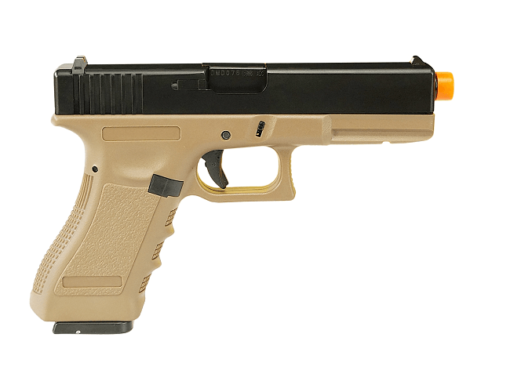 Pistola Airsoft Army Armament Glock G17 Tan