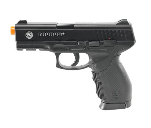 Pistola Airsoft Taurus 24.7 - Preto + Mag Extra Brinde