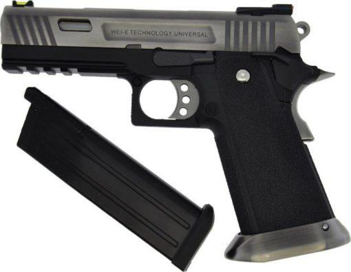 Pistola Airsoft WE Hi-Capa GBB Force 4.3 Allosaurus SV