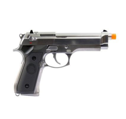 Pistola Airsoft WE M92 Full Metal - Prata