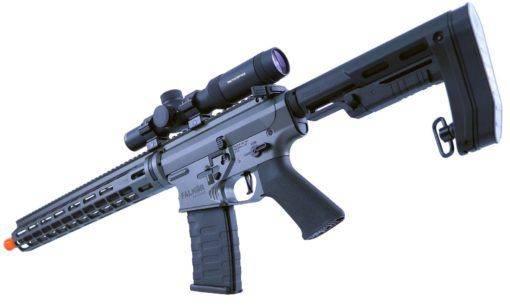 RIFLE AIRSOFT DMR 6MM EMG ARMS AEG FALKOR FD-R - GREY