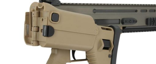 Rifle Airsoft Ares FN Herstal SCAR-L EFCSystem 6mm Tan