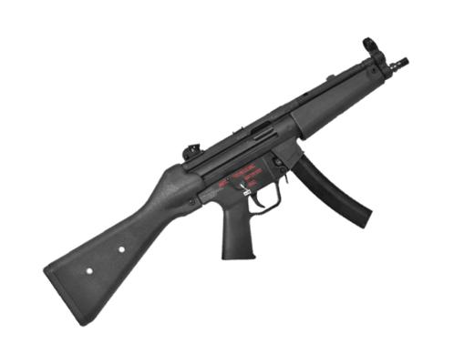 Rifle Airsoft Tokio Marui H&K MP5 A4 HG - Preto