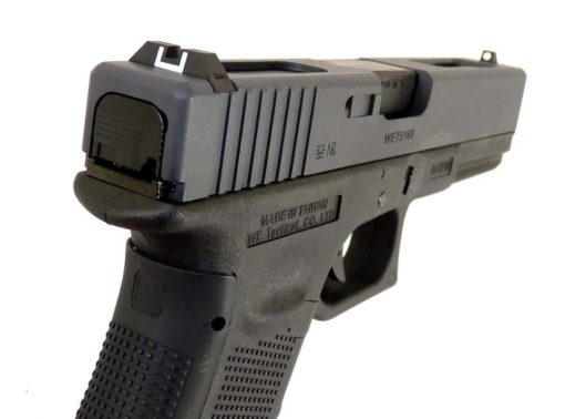 PISTOLA AIRSOFT GLOCK WE G18 GEN4 - PRETO