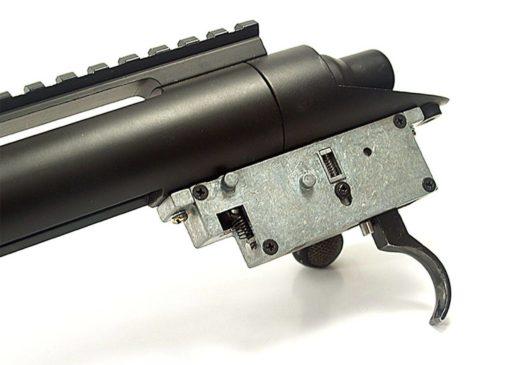 RIFLE SNIPER AIRSOFT MODIFY M24 - PRETO
