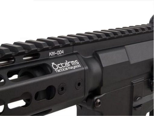 RIFLE AIRSOFT ARES AMOEBA OCTARMS M4 KM10 - PRETO