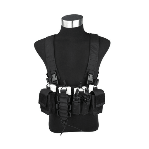 Colete Airsoft Chest Rig Preto