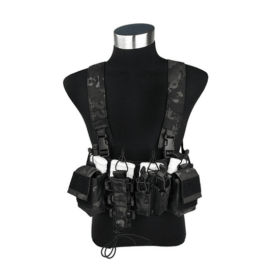 Colete Airsoft Chest Rig TMC2757-BKM - final 1
