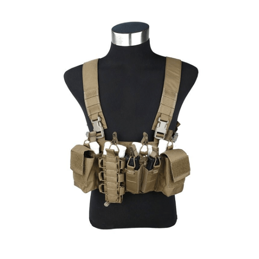 Colete Airsoft Chest Rig Tan