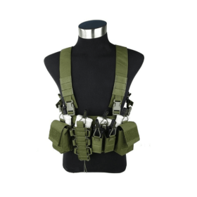 Colete Airsoft Chest Rig Verde - OD