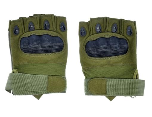 Luva Airsoft Emerson Gear Sem Dedos Verde