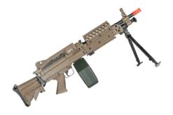 METRALHADORA AIRSOFT M249 A&K AEG – TAN