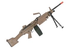 METRALHADORA AIRSOFT M249 MK2 A&K AEG – TAN