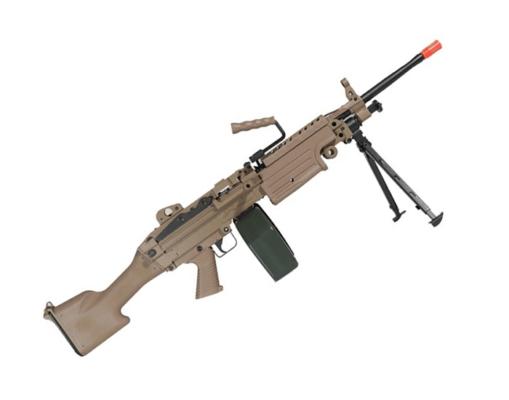 Metralhadora Airsoft M249 A&K AEG