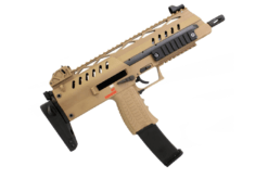 RIFLE AIRSOFT WE SMG 8 GAS BLOWBACK – TAN