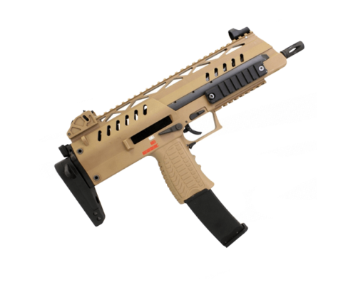 Airsoft Rifles WE SMG 8 tan