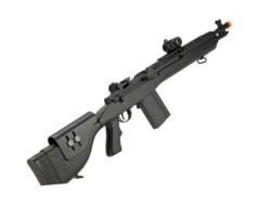 Rifle Airsoft Cyma AEG M14 CM032F preto