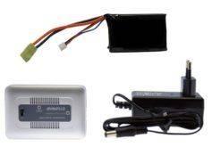 Kit de Bateria e Carregador Airsoft LIPO 11.1