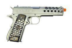 Airsoft Pistola 1911 Cromada