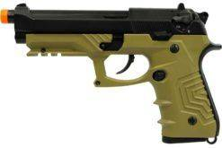 PISTOLA AIRSOFT HFC GBB M92-SPECIAL FORCE-COR-TAM