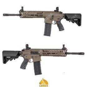 LONEX M4 RIFLE AIRSOFT AEG L4-14.5 RECOIL