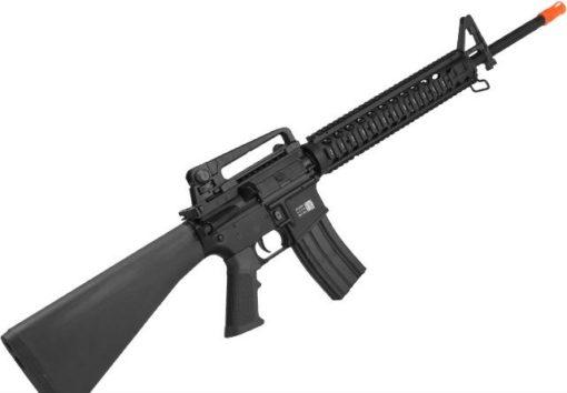 Fuzil M16 Airsoft Bolt B4M16 M16A4 - Preto