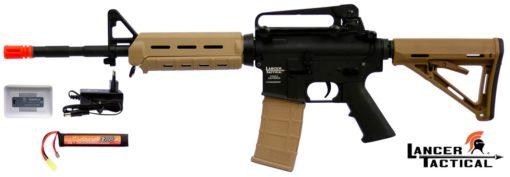 Airsoft Special M4 Tactical Mega Combo Lancer Magpul - Dual Tone
