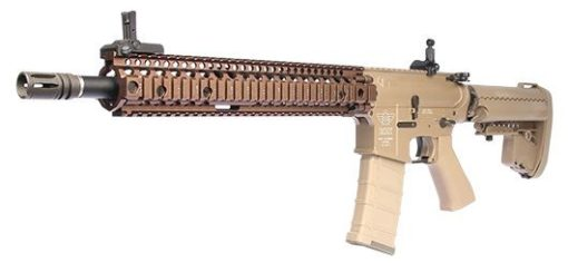 M4 CQB RIFLE AIRSOFT BOLT B4 SOPMOD BLOCK