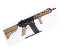 Aeg Airsoft Rifle M4 Bolt MK18 Mod1 Dual Tone