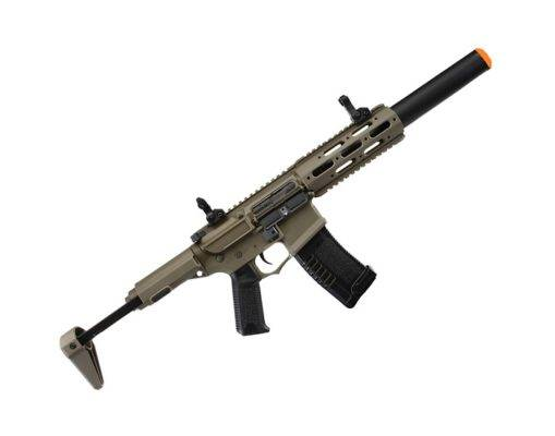 Airsoft Amoeba AM 014 Ares Rifle + Mascara + Mochila
