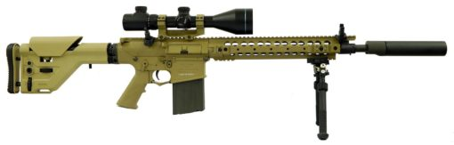 Ares Airsoft Kit Rifle Sniper SR25 M110 - Tan