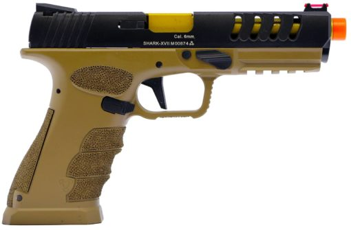 APS Shark Co2 Pistola Airsoft Full Auto