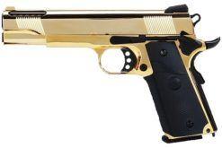 Airsoft 1911 GBB SRV SRC Pistola - Gold