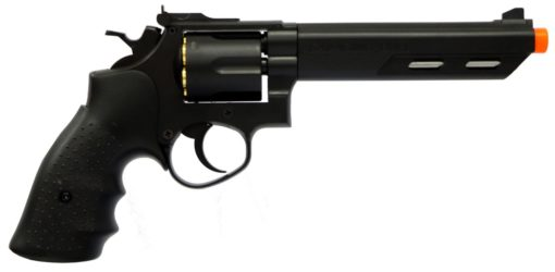 REVOLVER 357 AIRSOFT HFC SAVAGING BULL 6MM - PRETO