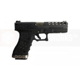 Arma Glock Armorer Works Vx0101 Pistola Airsoft - Preta