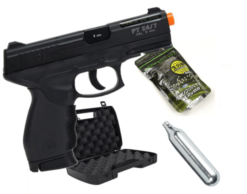Kit Pistola Airsoft Cybergun 24 7 Co2 6mm