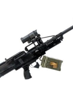 Metralhadora Airsoft PKP Bullpup RAPTOR 6mm - Preta